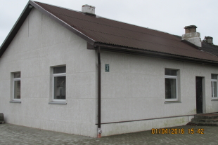 Building of 79,3 sq/m area along with land area of 412,5 at Virsaiša street 3, North suburb