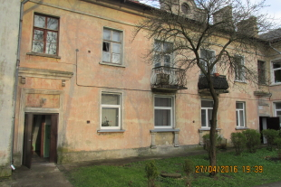 1- rooms apartment in 33,9 sq/m  Pulkveza Brieza Street 3