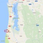 Land plot with the area of 3.01 hectares for private building 11 km from Liepāja