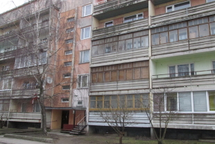 1-bedroom apartment with an area of 39, 1 sq/m in area Ezerkrasts-2, Daugavas Street 7