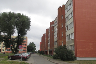 2-rooms apartment 52, 8 sq/m Laumas district, street O. Kalpaka 105