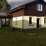 House an area 118, 4 sq/m with a land plot an area of 4800 sq/m ,in Rude,  Otanki parish, 25 km from Liepaja