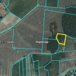 Land plot with the area of 1.01ha Saraiki, 750 metres from the Baltic Sea, 25 km from the Centre of Liepaja