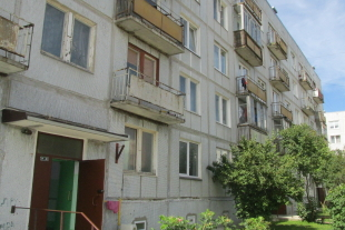 1-room apartment with an area of 29 sq/m, Viršu street 11