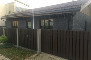 One-storey residential house with an area of 159.4 sq/v with a plot of land of 587 sq/m in Old Liepaja, Sūnu Street 25
