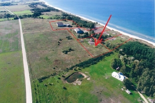 Land plot with the area of 0, 81 ha 130 m from the sea parish Vergales, 25 km fromLiepāja in the direction of Ventspils