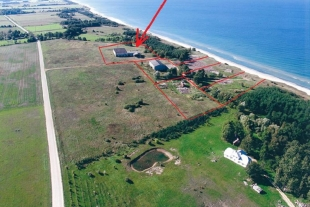Land plot with an area of 1.4 ha  90 m from the sea in parish Vergales, 25 km from Liepāja
