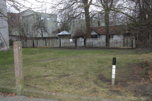 House of 40 sq / m area with land of 797 sq / m area near the center of Liepaja, Celtnieku street 22