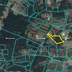 Land for construction in area of 1.05 ha 9 km from Liepāja in the direction of Lithuania