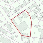 The land an area of 8129 sq/m with buildings at Kroņu Street 4/6,  new Liepaja (Jaunliepaja)