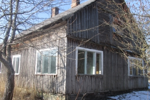 House with land 23.5 hectares and auxiliary buildings in Šķēde, 7 km from Liepaja towards Ventspils