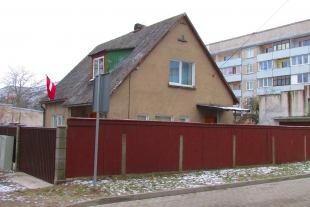The house has an area of 115 sq/m with a plot of land of 689 sq/m in old Liepaja, Ciecereres Street