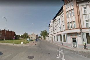 Land plot 1591 sq/m for private or commercial development in the center of Liepaja, Klaipedas Street 2