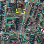 Land plot 795 sq/m for private or commercial development in the center of Liepaja, Kuršu Street 26