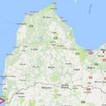 Land of 1.2535 hectares with a sea border of 64 m